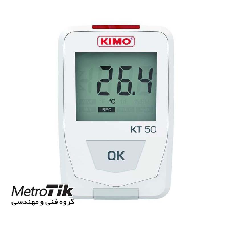 ترموگراف دما IP65 Storeroom Data Logger KIMO KT50