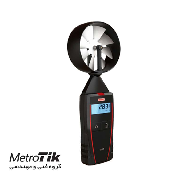 سرعت سنج باد دیجیتال پره ای  Vane Thermo-Anemometer